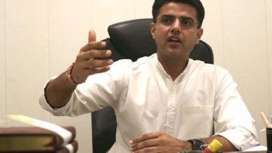 राजस्थान के उपमुख्यमंत्री पायलट, 2 अन्य मंत्री हटाए गए