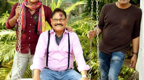 पंकज बेरी, मुश्ताक खान, आदि ईरानी ने हिंदी फ़िल्मत्राहिमाम की शूटिंग मुंबई मेंकी