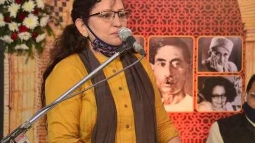 महिला दिवस: धर्म का पालन करते हुए शासकीय सेवा और अदब की खिदमत कर रहीं नुसरत मेहदी