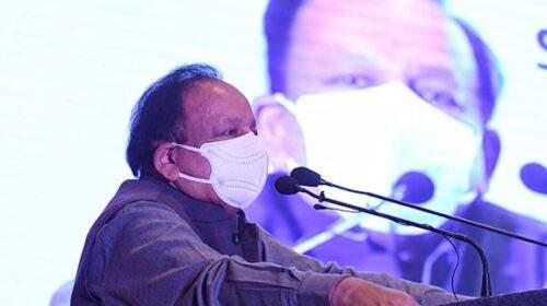भारत में कोरोना महामारी खत्म होने को है : स्वास्थ्य मंत्री