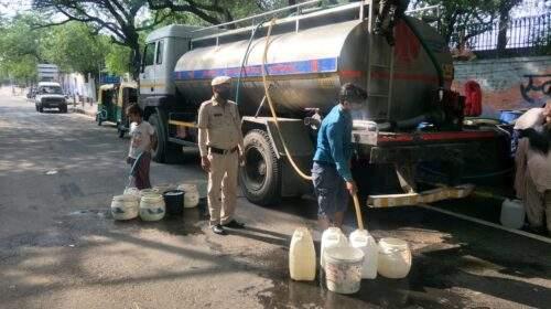 नई दिल्ली नगरपालिका परिषद क्षेत्र के विवेकानंद कैंप में जलापूर्ति के बारे में तथ्य